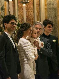 Andrea Bocelli - Matrimonio celebrato al Santuario di Montenero - Livorno