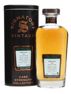 Signatory Vintage Cask Strength Collection - Mortlach 1991 - 20 years old