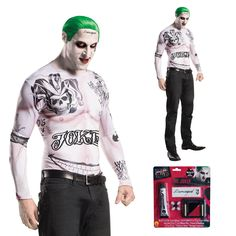 Rubies dc comics mens #suicide squad the #joker fancy dress halloween #costume se,  View more on the LINK: http://www.zeppy.io/product/gb/2/322277931140/