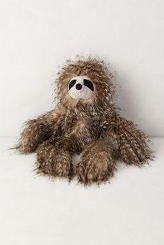 Anthropologie Fuzzy Friend Stuffed Animal #anthrofave #anthropologie