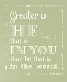 .I John 4:4b