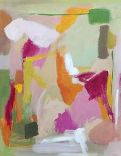 abstract painting contemporary design original painting pamela