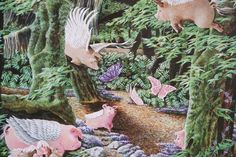 """Pigasus, When Pigs Fly""  Art"