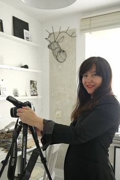 Karine Kong of Bodie and Fou styling at Desiree's studio of Vosges Paris for VT wonen.