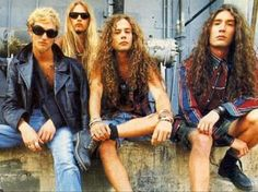 Alice in Chains; photog is Marty Temme