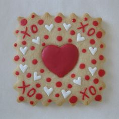 Valentine - Sugar Cookie | Lightly decorated | Tamara