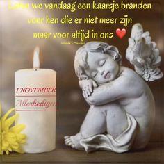 November, Pillar Candles, Tea Lights, Garden Sculpture, Heaven, Outdoor Decor, Quotes, All Saints Day, Angel