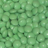 Light Green Milk Chocolate Gems - 2 lb bag: $13.95 Groovy Candies