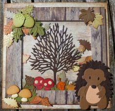 Creaties van Hetty: herfstkaart