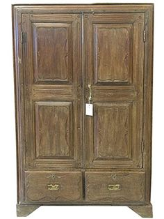 Antique Armoire Rustic Indian Furniture Vintage Cabinet Bathroom Storage Mogul Interior http://www.amazon.com/dp/B00PRTLNGO/ref=cm_sw_r_pi_dp_cMqDub1R9AE26