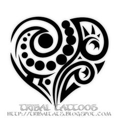 Our Tattoo: 10 Unique Designs of Tribal Heart Tattoos