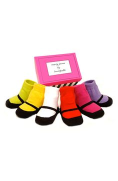 Trumpette 'Mary Janes' Socks Gift Set (Baby Girls) available at #Nordstrom