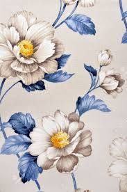"Buy the royalty-free Stock image ""Fabric, floral pattern"" online ✓ All image rights included ✓ High resolution picture for print, web & Social Media Vintage Flowers Wallpaper, Floral Pattern Wallpaper, Flower Wallpaper, Motif Floral, Arte Floral, Floral Prints, Retro Floral, Floral Design, Flower Texture"