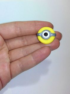Minion despicable me fridge magnet handmade fimo by youfimo