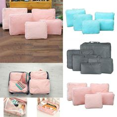 5 In 1 Waterproof Clothes Storage Bags Packing Cube Travel Luggage Organizer -- BuyinCoins.com