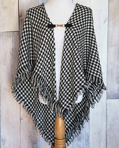 Love this one too! On sale at Cents of Style Tanya- Houndstooth Shawl