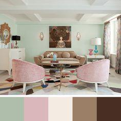 Ideias de CORES PARA SALA: Como escolher cores para sala de estar, salas de TV e salas de jantar, descubra o poder que as cores em transformar os ambientes!