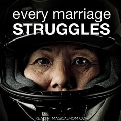 Whatever brought two people together before having kids will most likely not be important, relevant or even possible after. Every single marriage struggles.