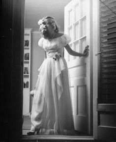 1947 prom dress