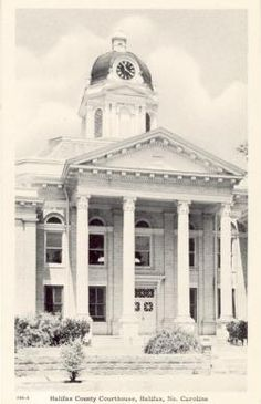 Halifax Courthouse with 1965 addition