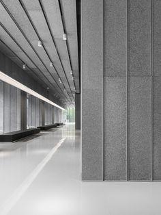 Lounge Bar, Lobby Lounge, Hotel Lobby, Office Entrance, Office Lobby, Office Building Lobby, Futuristic Interior, Futuristic Design, Lobby Interior