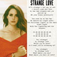 Lana Del Rey - Strange Love
