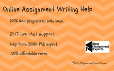 Nowadays find an assignment expert is very tough. So, we the best assignment experts are now thinking about those students who are facing problem for their assignment. We have premium quality experts who are ready to help and their work cost is cheap. Assignment Writing Service, Thesis Writing, Good Student, Term Paper, We The Best, Civil Engineering, Writing Help, Research Paper, Writing Services