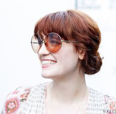 Florence Welch from Florence and the machine