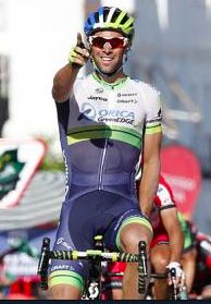 """Michael Matthews wins at Stage 3 of the 2014 Vuelta. """"Bling"""" is proving that his 2014 Giro results were not a fluke."""