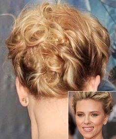 Scarlett Johansson's Tousled Updo