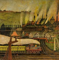 'Mixed Industry' by Shelton  Charles William Brown (1882–1961). The Potteries Museum & Art Gallery