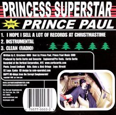 Princess Superstar I Hope Sell a Lot of Records at Christmastime Cd *New 3trk #Rap #christmas