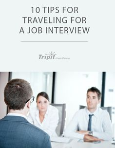 Are you traveling for a job interview? Heed these tips to make it a successful trip and score the job of your dreams. Movin On, Business Travel, Traveling By Yourself, Travel Tips, Writer, Interview, Learning, Blog, Advice