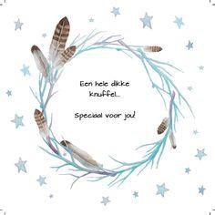 Design: Fastcards www.fastcards.nl - Een hele dikke knuffel speciaal voor jou