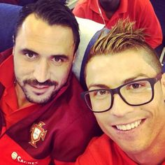 Cristiano Ronaldo wearing Square Oversized Glasses  | SelectSpecs