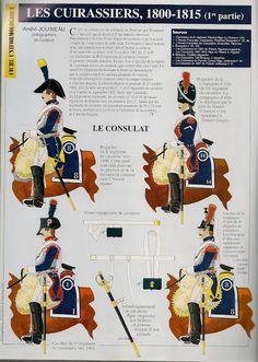 MINIATURAS MILITARES POR ALFONS CÀNOVAS: LOS CORACEROS del IMPERIO NAPOLEONICO, por Andre JOUINEAU.
