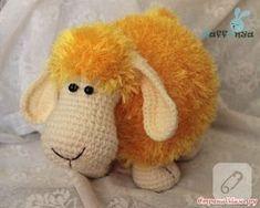 amigurumi oyuncak-yastık kuzucuk harika. tam ve detaylı tarifi ile siz de örebilirsiniz, örgü amigurumi oyuncak sevenler bunu kaçırmasın. 10marifet.org'da.