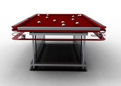 nottage design pool tables gc 7 cloth top billiard table