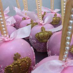 Maçãs decoradas lindas por @coisasdelicias
