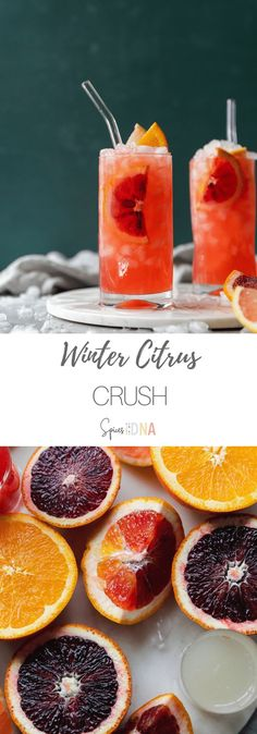 Winter Citrus Crush - Best Recipes for Entertaining - Obst Citrus Vodka, Vodka Lime, Lime Juice, Pineapple Juice, Winter Cocktails, Orange Crush Recipe, Orange Crush Cocktail, Rumchata Recipes, Make Simple Syrup