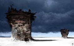 concept environment | OLD environment Concept Art by *torvenius on deviantART