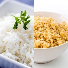 ([keywords]) Brown rice is good. Quinoa is better. One cup of cooked quinoa has fewer carbs, more protein, and more fiber than brown rice. Weight Loss Meals, Weight Loss Shakes, Weight Loss Diet Plan, Weight Loss Smoothies, Healthy Weight Loss, Lose Weight, Best Weight Loss Supplement, Best Weight Loss Program, How To Cook Quinoa