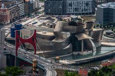 Arquitectura contemporánea, nuestros favoritos, museo Guggenheim de Bilbao