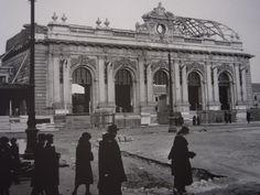 Il triste smantellamento della vecchia ed elegante Stazione Centrale di Milano nel 1931.