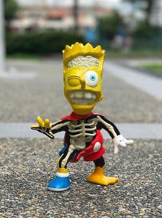 "Pobber Toys x Cote Escriva - ""Twisted Bart: SpongeBart"" edition revealed!!!"