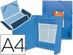 Carpeta lomo flexible con solapas gomas portadocumentos Beautone Din A4 azul  http://www.20milproductos.com/catalog/product/view/id/13007/s/carpeta-lomo-flexible-con-solapas-beautone/category/2/
