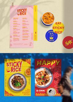 Food Graphic Design, Design Café, Food Poster Design, Food Menu Design, Graphic Design Posters, Graphic Design Inspiration, Layout Design, Food Branding, Food Packaging