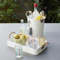 Bar Cart Inspiration | Fashionable Hostess
