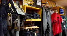 Fat Face Denim in-store Retail Signage, Fat Face, Retail Design, Boutique, Denim, Store, Wall, Tent, Jeans