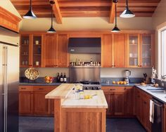 Butcher Block Kitchen Islands Design, Pictures, Remodel, Decor and Ideas - page 13